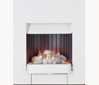 Valor Artura picture frame style pebble effect gas fire