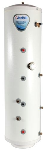 Stainless Lite slimline direct unvented hot water cylinder