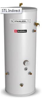 Gledhill Stainless Lite Plus unvented hot water cylinders