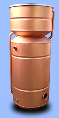 Combination hot water cylinder (fortic tank) direct and indirect
