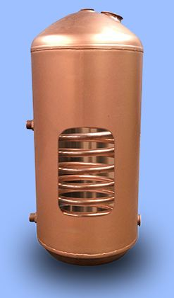 Direct and indirect hot water cylinders