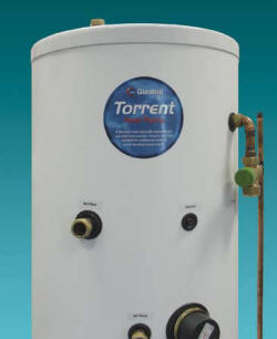 Heat Pump thermal store cylinder