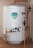 Stainless Lite Slimline unvented hot water cylinder