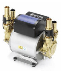 Power shower booster pumps